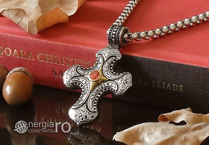 Amuleta-Talisman-Medalion-Colier-Pandant-Pandantiv-Cruce-Cruciulita-Crucifix-INOX-PND230-04