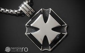 amuleta-talisman-medalion-colier-pandant-pandantiv-crucea-malteza-de-fier-protector-protectoare-protectie-inox-PND074-00