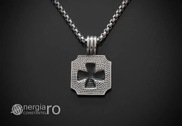 amuleta-talisman-medalion-colier-pandant-pandantiv-crucea-malteza-de-fier-protector-protectoare-protectie-inox-PND074-02