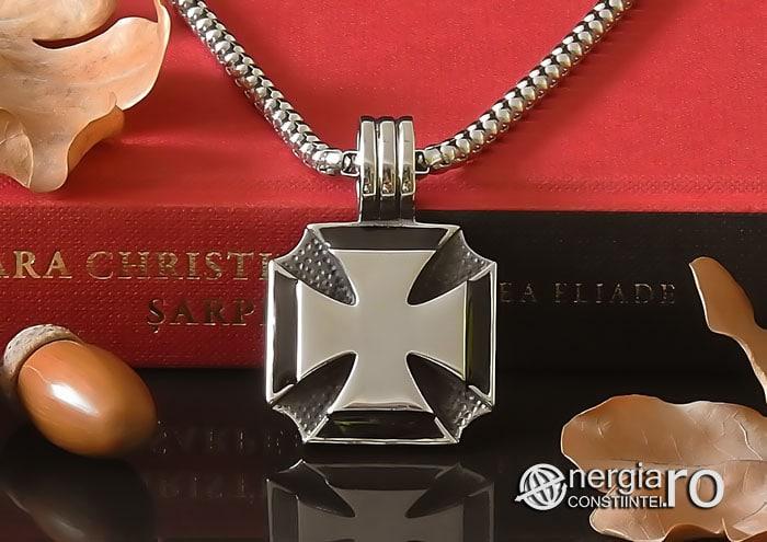 amuleta-talisman-medalion-colier-pandant-pandantiv-crucea-malteza-de-fier-protector-protectoare-protectie-inox-PND074-06