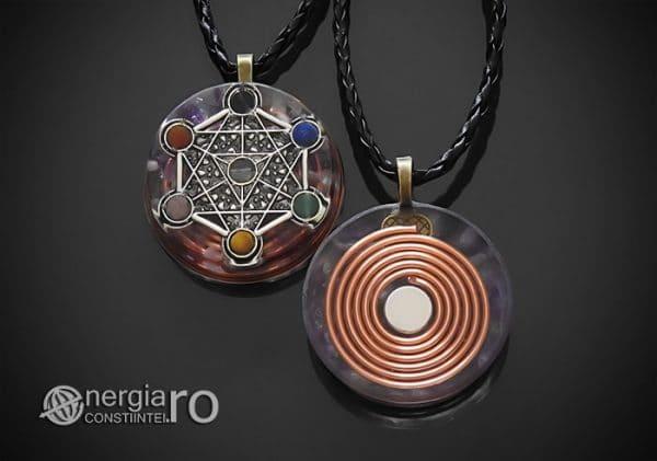 amuleta-talisman-medalion-colier-pandant-pandantiv-orgon-orgonic-magnetic-cubul-lui-metatron-placat-argint-magnet-cupru-ametist-ORG016-00