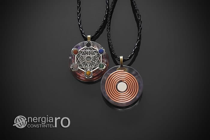 amuleta-talisman-medalion-colier-pandant-pandantiv-orgon-orgonic-magnetic-cubul-lui-metatron-placat-argint-magnet-cupru-ametist-ORG016-01