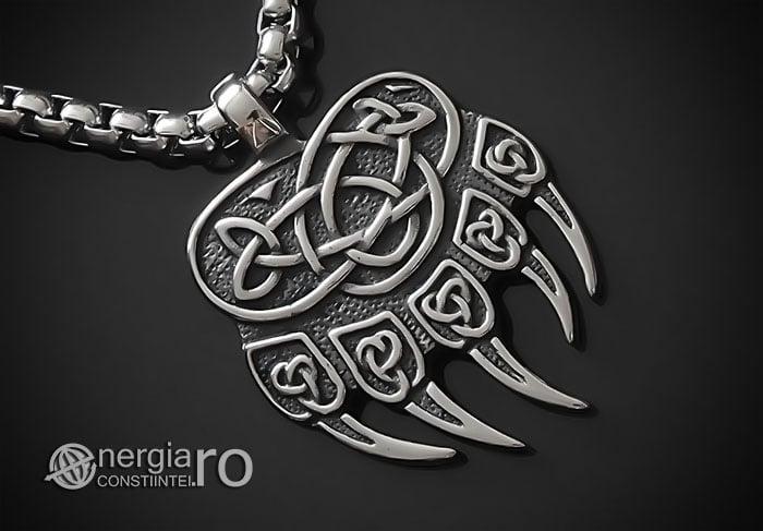 amuleta-talisman-medalion-colier-pandant-pandantiv-protector-protectoare-protectie-laba-gheara-de-urs-inox-pnd235-00
