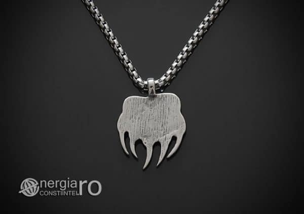 amuleta-talisman-medalion-colier-pandant-pandantiv-protector-protectoare-protectie-laba-gheara-de-urs-inox-pnd235-02