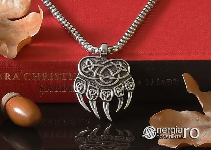 amuleta-talisman-medalion-colier-pandant-pandantiv-protector-protectoare-protectie-laba-gheara-de-urs-inox-pnd235-06