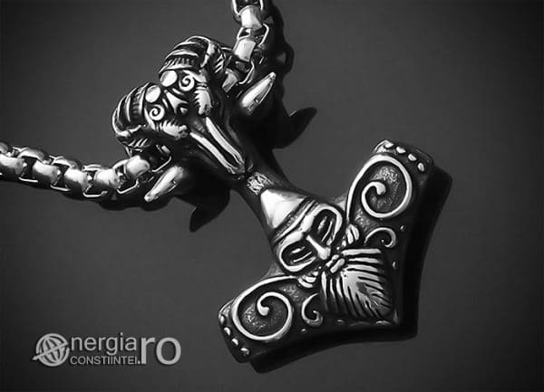 Amuleta-Talisman-Medalion-Colier-Pandant-Pandantiv-Ciocanul-lui-Thor-Mjolnir-INOX-PND152-00