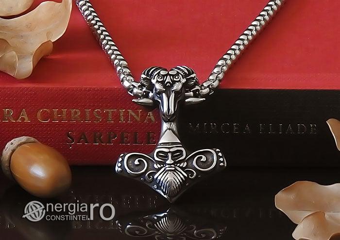 Amuleta-Talisman-Medalion-Colier-Pandant-Pandantiv-Ciocanul-lui-Thor-Mjolnir-INOX-PND152-06