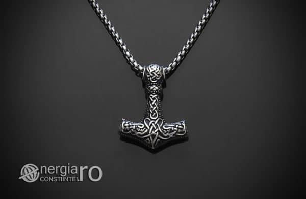 Amuleta-Talisman-Medalion-Colier-Pandant-Pandantiv-Ciocanul-lui-Thor-Mjolnir-INOX-PND153-01