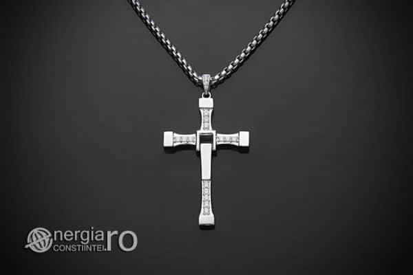 Amuleta-Talisman-Medalion-Colier-Pandant-Pandantiv-Cruciulita-Cruce-Crucifix-Vin-Diesel-Fast-And-Furious-Dominic-Toretto-Argint-PND949-01