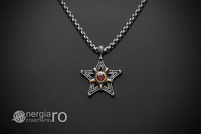 Amuleta-Talisman-Medalion-Colier-Pandant-Pandantiv-Pentaclu-Pentagrama-Protector-Protectie-INOX-01