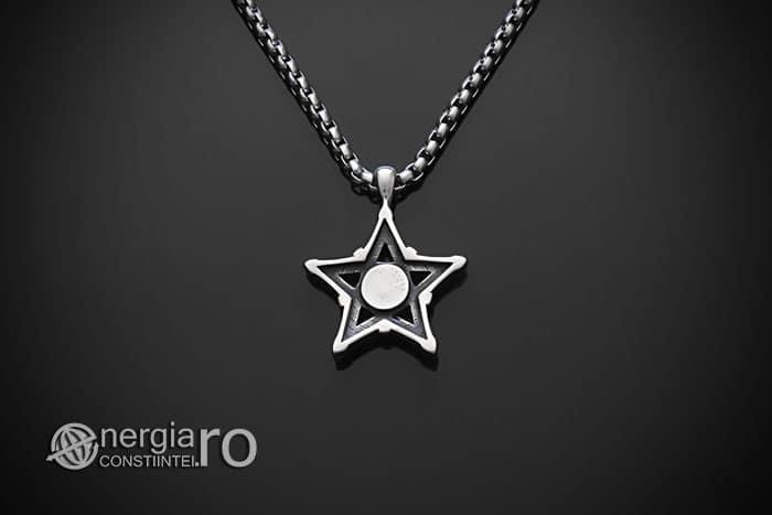 Amuleta-Talisman-Medalion-Colier-Pandant-Pandantiv-Pentaclu-Pentagrama-Protector-Protectie-INOX-02