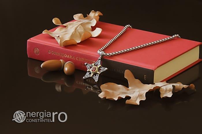 Amuleta-Talisman-Medalion-Colier-Pandant-Pandantiv-Pentaclu-Pentagrama-Protector-Protectie-INOX-03