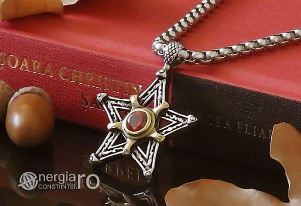 Amuleta-Talisman-Medalion-Colier-Pandant-Pandantiv-Pentaclu-Pentagrama-Protector-Protectie-INOX-04