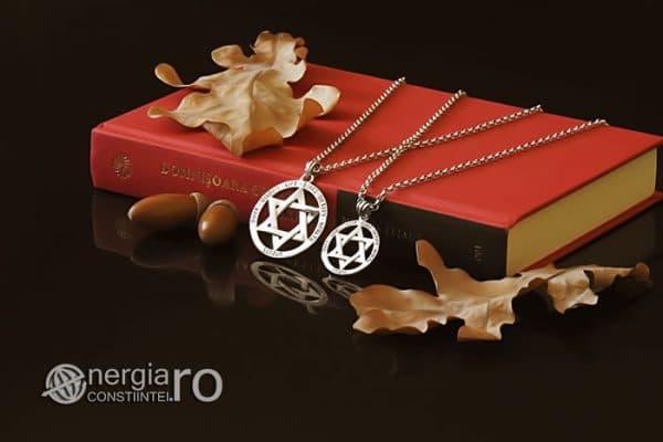 Amuleta-Talisman-Medalion-Colier-Pandant-Pandantiv-Steaua-lui-David-Hexagrama-Argint-PND916-03