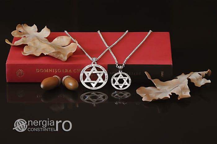 Amuleta-Talisman-Medalion-Colier-Pandant-Pandantiv-Steaua-lui-David-Hexagrama-Argint-PND916-05