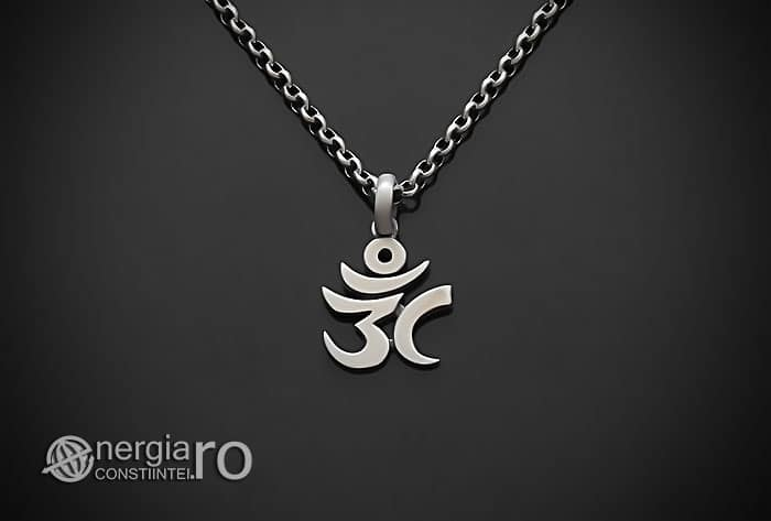 Amuleta-Talisman-Medalion-Colier-Pandant-Pandantiv-Aum-Om-Argint-Simbol-Sacru-Mistic-ORG930-01