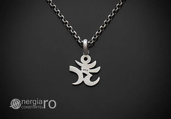 Amuleta-Talisman-Medalion-Colier-Pandant-Pandantiv-Aum-Om-Argint-Simbol-Sacru-Mistic-ORG930-02