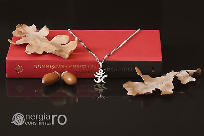 Amuleta-Talisman-Medalion-Colier-Pandant-Pandantiv-Aum-Om-Argint-Simbol-Sacru-Mistic-ORG930-05