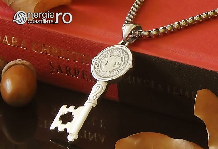 Amuleta-Talisman-Medalion-Colier-Pandant-Pandantiv-Cheia-Vietii-Succesului-Fericirii-Norocului-Belsugului-Prosperitatii-INOX-PND260-04