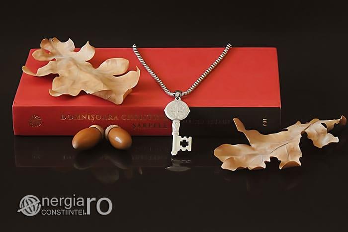 Amuleta-Talisman-Medalion-Colier-Pandant-Pandantiv-Cheia-Vietii-Succesului-Fericirii-Norocului-Belsugului-Prosperitatii-INOX-PND260-05