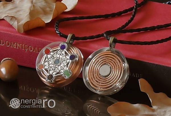 Amuleta-Talisman-Medalion-Colier-Pandant-Pandantiv-Orgon-Orgonic-Magnetic-Spirala-Cupru-Cubul-lui-Metatron-Sapte-Chakre-ORG018-03