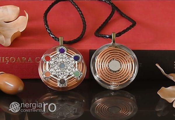 Amuleta-Talisman-Medalion-Colier-Pandant-Pandantiv-Orgon-Orgonic-Magnetic-Spirala-Cupru-Cubul-lui-Metatron-Sapte-Chakre-ORG018-05