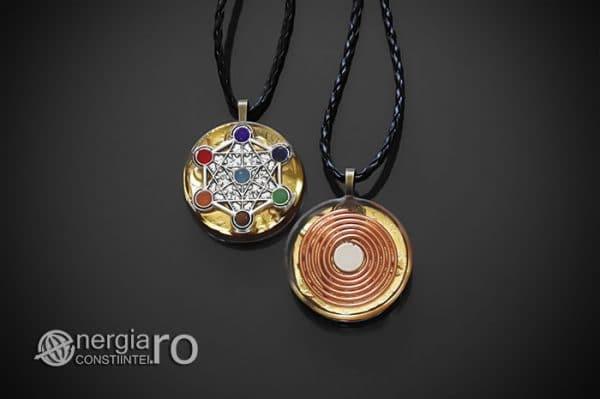 Amuleta-Talisman-Medalion-Colier-Pandant-Pandantiv-Orgonic-Orgon-Cubul-lui-Metatron-Septe-Chakre-Cristale-Spirala-Cupru-Magnet-ORG019-01
