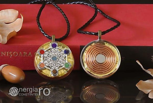 Amuleta-Talisman-Medalion-Colier-Pandant-Pandantiv-Orgonic-Orgon-Cubul-lui-Metatron-Septe-Chakre-Cristale-Spirala-Cupru-Magnet-ORG019-05