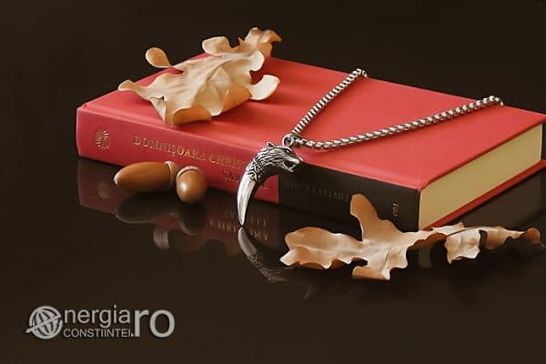 Amuleta-Talisman-Medalion-Colier-Pandant-Pandantiv-Protectie-Protector-Protectoare-Colt-de-Lup-INOX-PND174-03