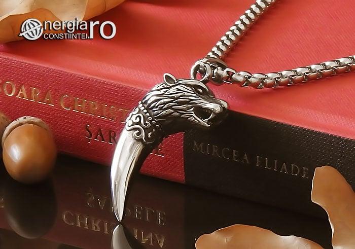 Amuleta-Talisman-Medalion-Colier-Pandant-Pandantiv-Protectie-Protector-Protectoare-Colt-de-Lup-INOX-PND174-04