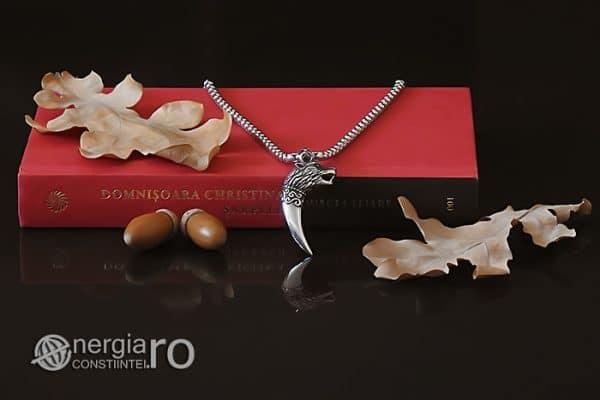 Amuleta-Talisman-Medalion-Colier-Pandant-Pandantiv-Protectie-Protector-Protectoare-Colt-de-Lup-INOX-PND174-05