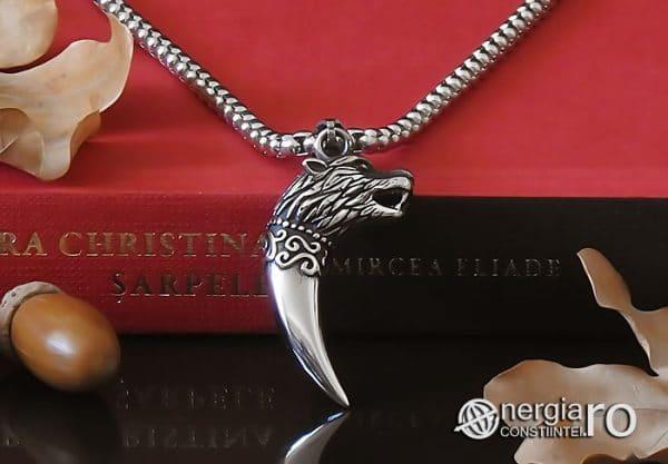Amuleta-Talisman-Medalion-Colier-Pandant-Pandantiv-Protectie-Protector-Protectoare-Colt-de-Lup-INOX-PND174-06