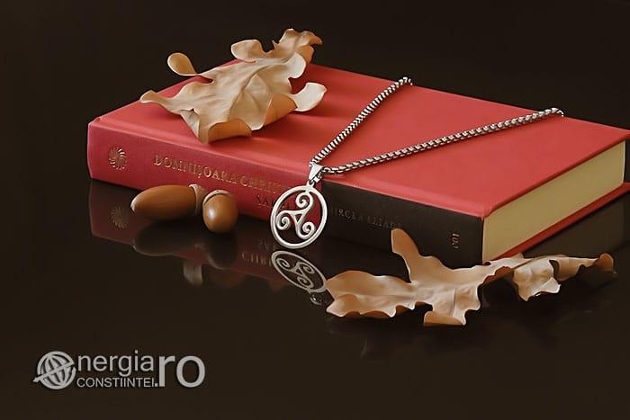 Amuleta-Talisman-Medalion-Colier-Pandant-Pandantiv-Triskelion-Triskele-Protector-Protectoare-Protectie-INOX-PND255-02