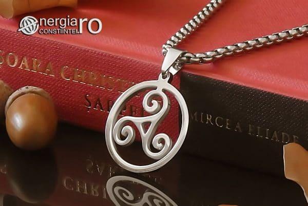 Amuleta-Talisman-Medalion-Colier-Pandant-Pandantiv-Triskelion-Triskele-Protector-Protectoare-Protectie-INOX-PND255-03