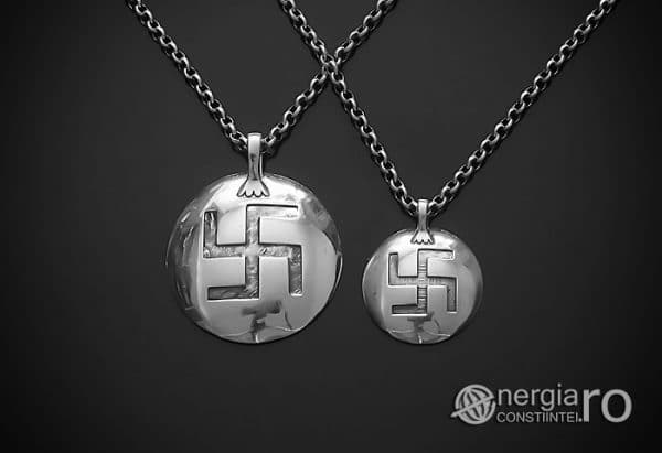Amuleta-Talisman-Medalion-Pandant-Pandantiv-Protector-Protectie-Om-Mani-Padme-Hum-Hindus-Svastica-Argint-PND945-02