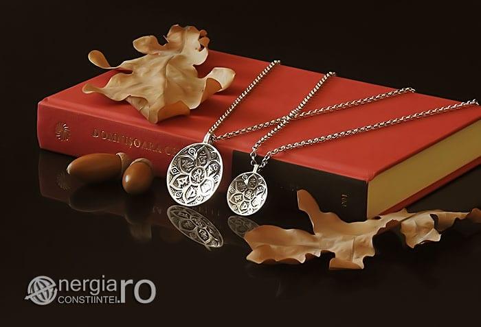 Amuleta-Talisman-Medalion-Pandant-Pandantiv-Protector-Protectie-Om-Mani-Padme-Hum-Hindus-Svastica-Argint-PND945-03