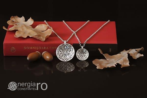 Amuleta-Talisman-Medalion-Pandant-Pandantiv-Protector-Protectie-Om-Mani-Padme-Hum-Hindus-Svastica-Argint-PND945-05