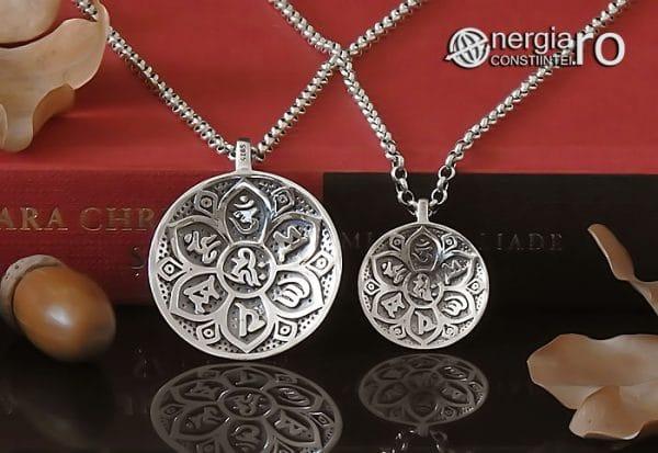 Amuleta-Talisman-Medalion-Pandant-Pandantiv-Protector-Protectie-Om-Mani-Padme-Hum-Hindus-Svastica-Argint-PND945-06