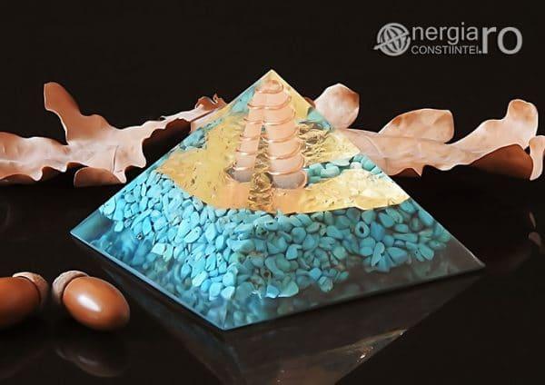 Piramida-Orgon-Orgonica-Energetica-Protectoare-Protectie-Cristale-Turcoaz-Spirala-Cupru-Foita-Aur-Magnet-Neodim-ORG056-00