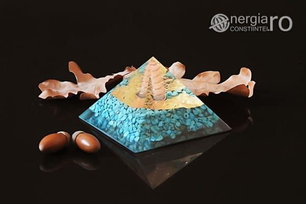 Piramida-Orgon-Orgonica-Energetica-Protectoare-Protectie-Cristale-Turcoaz-Spirala-Cupru-Foita-Aur-Magnet-Neodim-ORG056-01