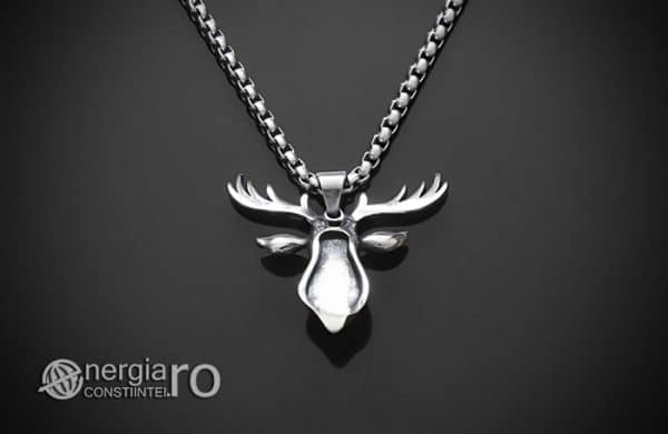 Amuleta-Talisman-Medalion-Colier-Pandant-Pandantiv-Cerb-Masculin-INOX-PND275-02
