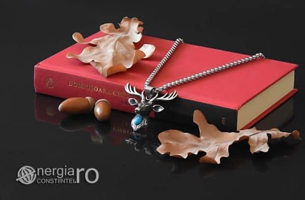 Amuleta-Talisman-Medalion-Colier-Pandant-Pandantiv-Cerb-Masculin-INOX-PND275-03