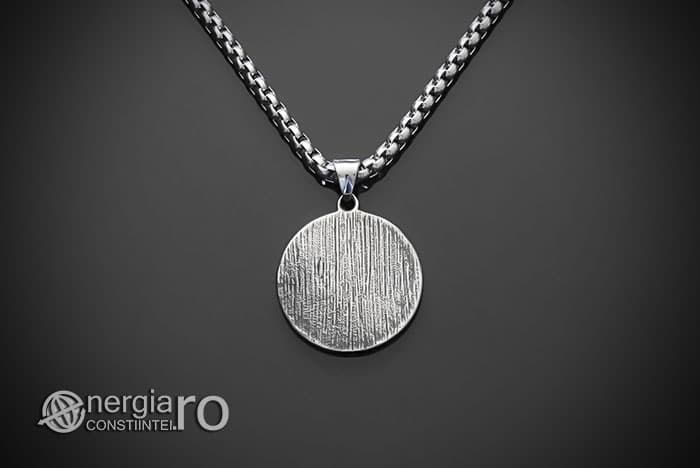 Amuleta-Talisman-Medalion-Colier-Pandant-Pandantiv-Dragon-Triquetra-INOX-PND256-02