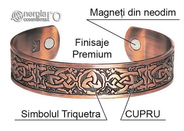 bratara-magnetica-terapeutica-medicinala-energetica-simbolul-triquetra-cupru-BRA045-04