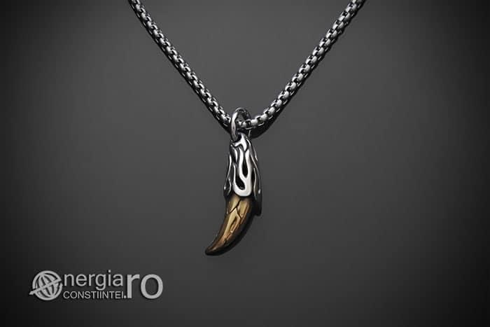 amuleta-talisman-medalion-colier-pandant-pandantiv-colt-de-lup-caine-inox-PND290-01