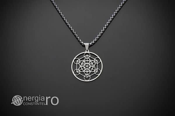 amuleta-talisman-medalion-colier-pandant-pandantiv-cubul-lui-metatron-inox-PND136-01