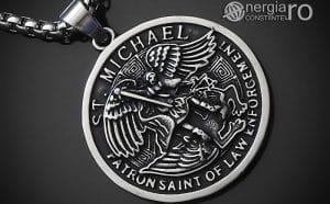 amuleta-talisman-medalion-colier-pandant-pandantiv-sfantul-sf-mihail-inox-PND281-00