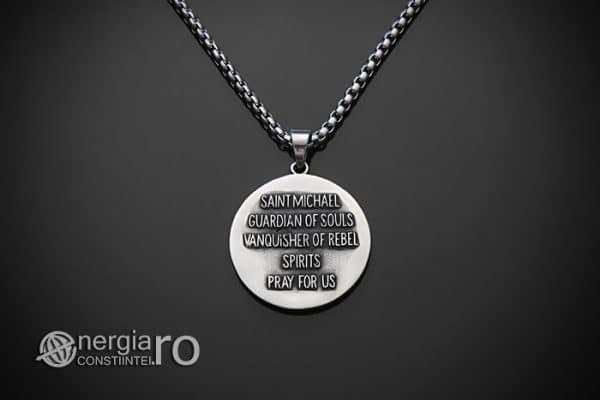 amuleta-talisman-medalion-colier-pandant-pandantiv-sfantul-sf-mihail-inox-PND281-02