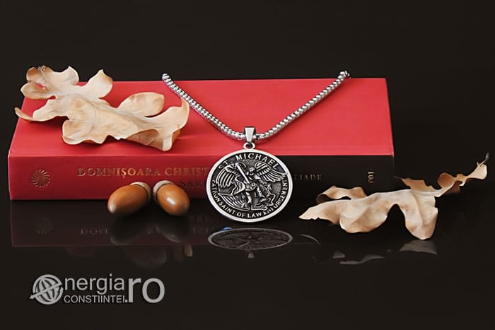 amuleta-talisman-medalion-colier-pandant-pandantiv-sfantul-sf-mihail-inox-PND281-05