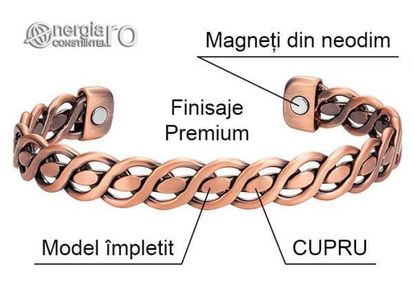 bratara-magnetica-terapeutica-energetica-medicinala-magneti-neodim-de-dama-cupru-BRA049-04